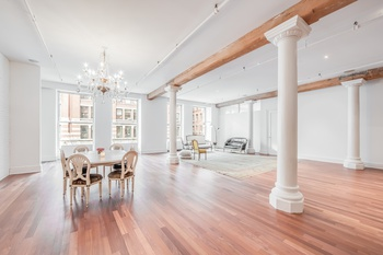No. 285 LAFAYETTE STREET 4060SF ULTRA CHIC FOUR BEDROOM + LIBRARY SOHO LOFT